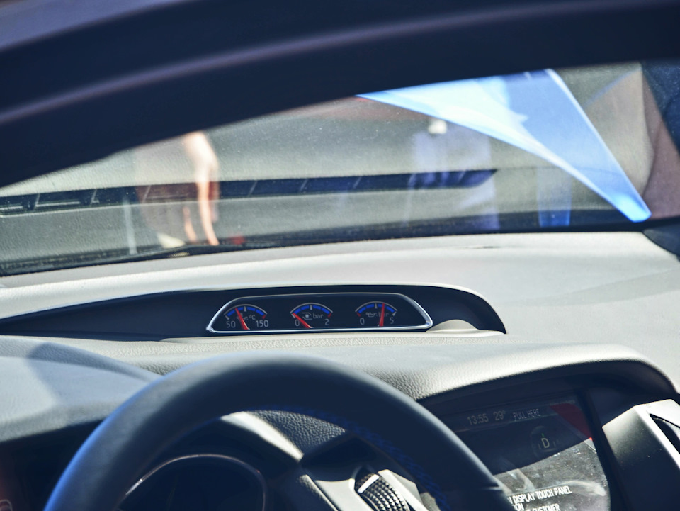 Ford       Focus          Focus    3 Restyling    Instrument cluster